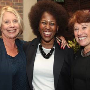 Lynne Raphaely,  Dr Makhosi Khoza, MP and Bev Goldman